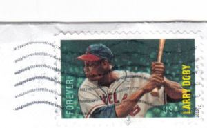 Canceled Larry Doby US Stamp