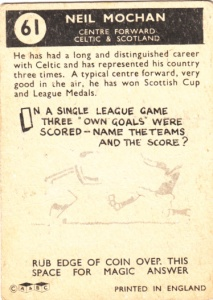1960-61 A&BC Neil Mochan back