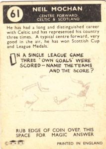 1960-61 A&BC Neil Mochan back