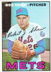 1967 Topps Bob Shaw