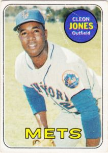 1969 Topps Cleon Jones