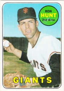 1969 Topps Ron Hunt