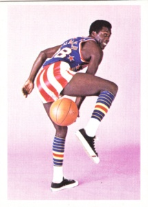 1972 Fleer Harlem Globetrotters Bobby Hunter