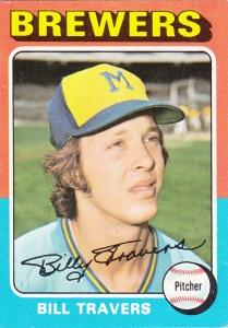 1975 Topps Bill Travers