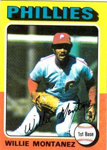1975 Topps Willie Montanez