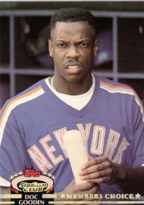 1992 Stadium Club Dwight Gooden