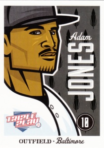 2012 Panini Triple Play Adam Jones