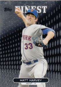 2013 Topps Finest Matt Harvey