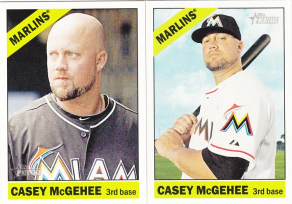 2015 Heritage Casey McGehee low and hi