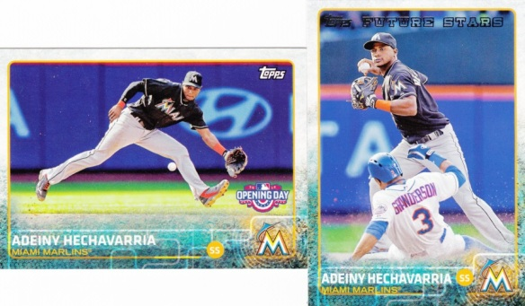 2015 Topps and Opening Day Adeiny Hechavarria