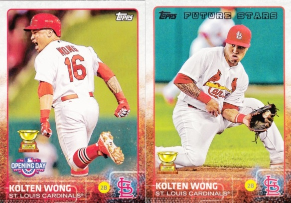 2015 Topps and Opening Day Kolten Wong