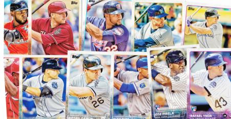 2015 Topps batters