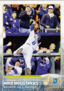 2015 Topps Mike Moustakas