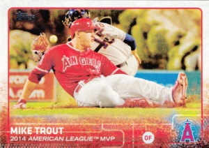 2015 Topps Mike Trout MVP