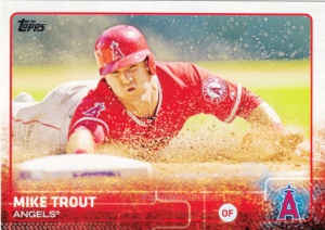 2015 Topps Mike Trout