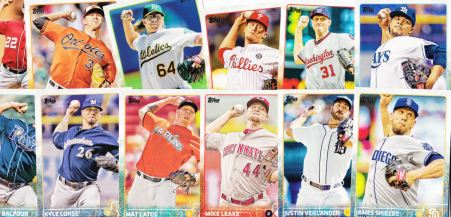 2015 Topps pitchers