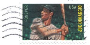 Joe DiMaggio USPS Stamp