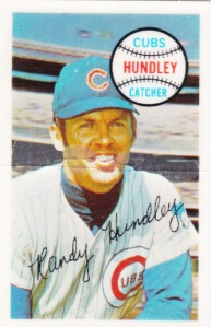 1970 Kellogg's Randy Hundley