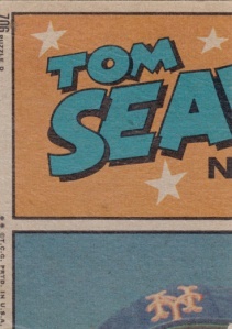 1972 Topps Pat Corrales IA Seaver back