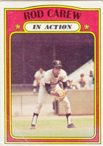 1972 Topps Rod Carew IA