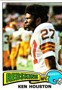 1975 Topps Football Ken Houston
