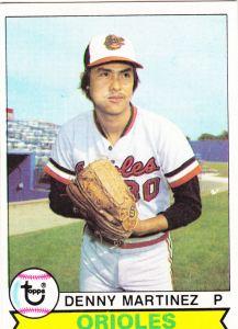 1979 Topps Denny Martinez