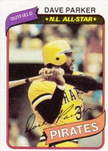 1980 Topps Dave Parker