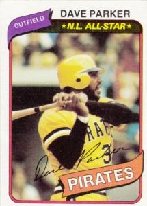 1980 Topps Dave Parker
