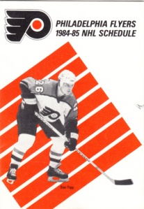 1984-85 Flyers schedule