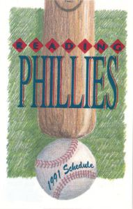 1991 Reading Phillies schedule