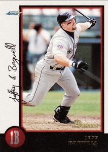 1998 Bowman Jeff Bagwell