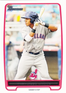 2012 Bowman Prospects Francisco Lindor