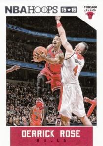 2015-16 Panini NBA Hoops Derrick Rose