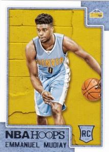 2015-16 Panini NBA Hoops Emmanuel Mudiay