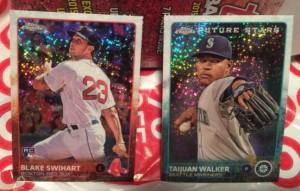 2015 Topps Update Swihart and Walker