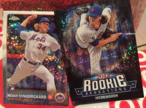 2015 Topps Update Syndergaard and deGrom RS