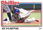 2015 TSR #315 - Joe Shlabotnik Phillies