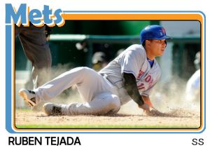 2015 TSR #555 - Ruben Tejada