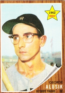 1962 Topps George Alusik