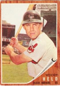 1962 Topps Woody Held