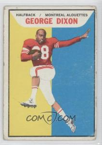 1965 Topps CFL #64 - George Dixon [Good to VG‑EX] - Courtesy of COMC.com