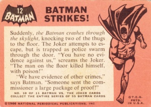 1966 Batman Black Bat - Batman Strikes back
