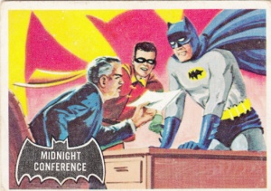 1966 Batman Black Bat - Midnight Conference