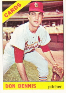 1966 Topps Don Dennis