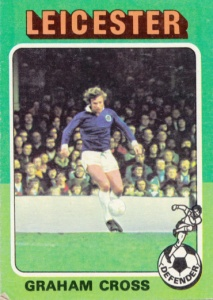 1974-75 Topps English Footballer Graham Cross