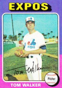 1975 Topps Tom Walker