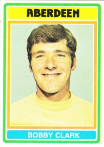 1976 Topps Scottish Footballers Bobby Clark