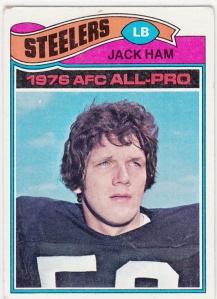 1977 Topps Football Jack Ham