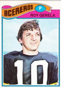1977 Topps Mexican Football Roy Gerela