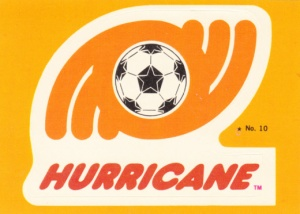 1979 Topps NASL Soccer Stickers Houston Hurricane